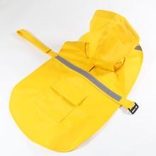 Pet Products Dog Raincoat Large Dog Raincoat Waterproof Jacket dog Clothes New High Quality Fashion Dogs Coat Pet Raincoat