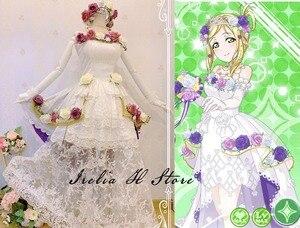Свадебное платье невесты Love live Sunshine Aqours охара Мари, карнавальный костюм, платье для женщин, высокое качество, на заказ/размер