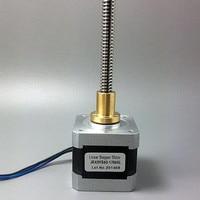 1pcs Nema 17 stepper motor 1.68A 4.2kg.cm 0.42Nm 40*42mm 42HS40 1704AL 1.8 degree 4 lead nema17 stappenmotor for 3D printer