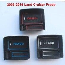 2003-2016 Car Interior Refrigerator Storage Box For Toyota Land Cruiser Prado FJ 150 Accessories