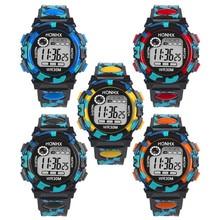 Dropshipping 2016 Kids Child Boy Girl Multifunction Waterproof Sports Electronic Watches Gift Relogio Feminino Masculino Uhren