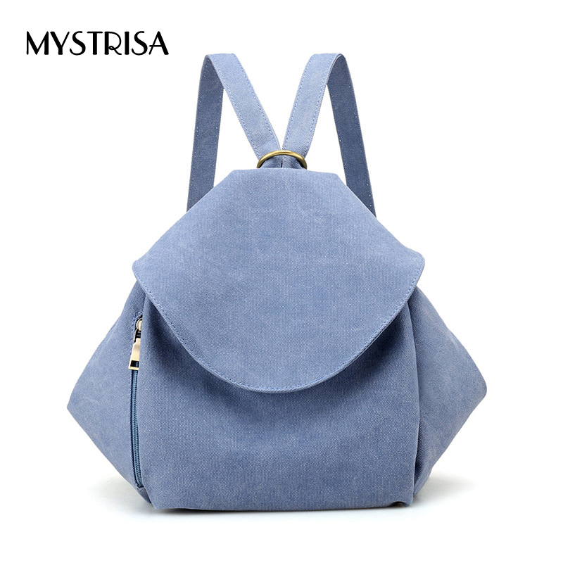 M0106 Women Canvas Backpacks Ladies Shoulder School Bag Rucksack For Girls Travel backbag Fashion Bag Bolsas mochilas Sac A Dos