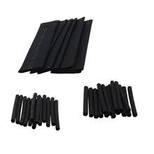127 teile/satz Verschiedene Schrumpf Schlauch Schwarz Draht Wrap Elektrische Isolierung Kabel Sleeving Sortiment Draht Wrap Kit 40% off
