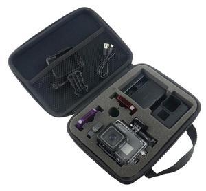 Image 3 - Lanbeika Voor Gopro Midden Draagbare Storage Collection Bag Case Box Voor Gopro Hero9 8 7 6 Sjcam SJ5000 SJ9 SJ6 SJ7 Dji Osmo Eken