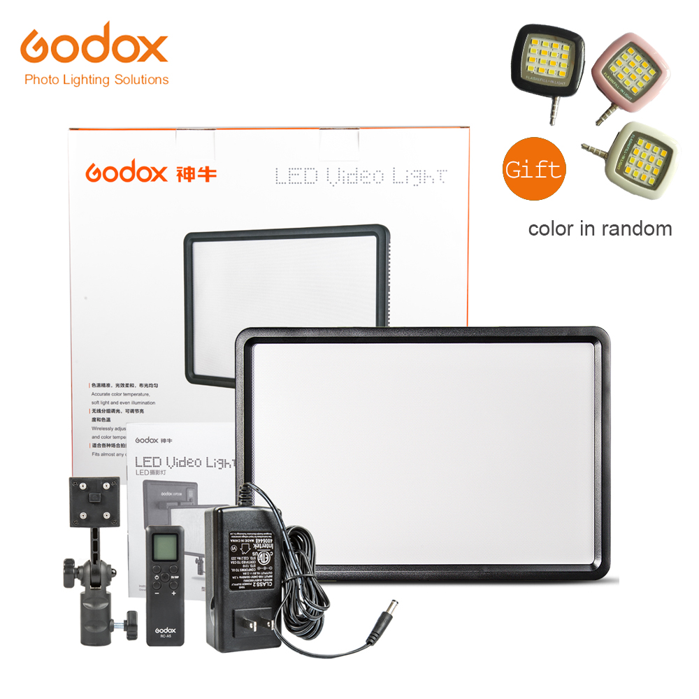 Godox LEDP260C Ultra Slim Led Light Panel 30W Lamp 3300K~5600K for DSLR Camera DVR for Studio Photography
