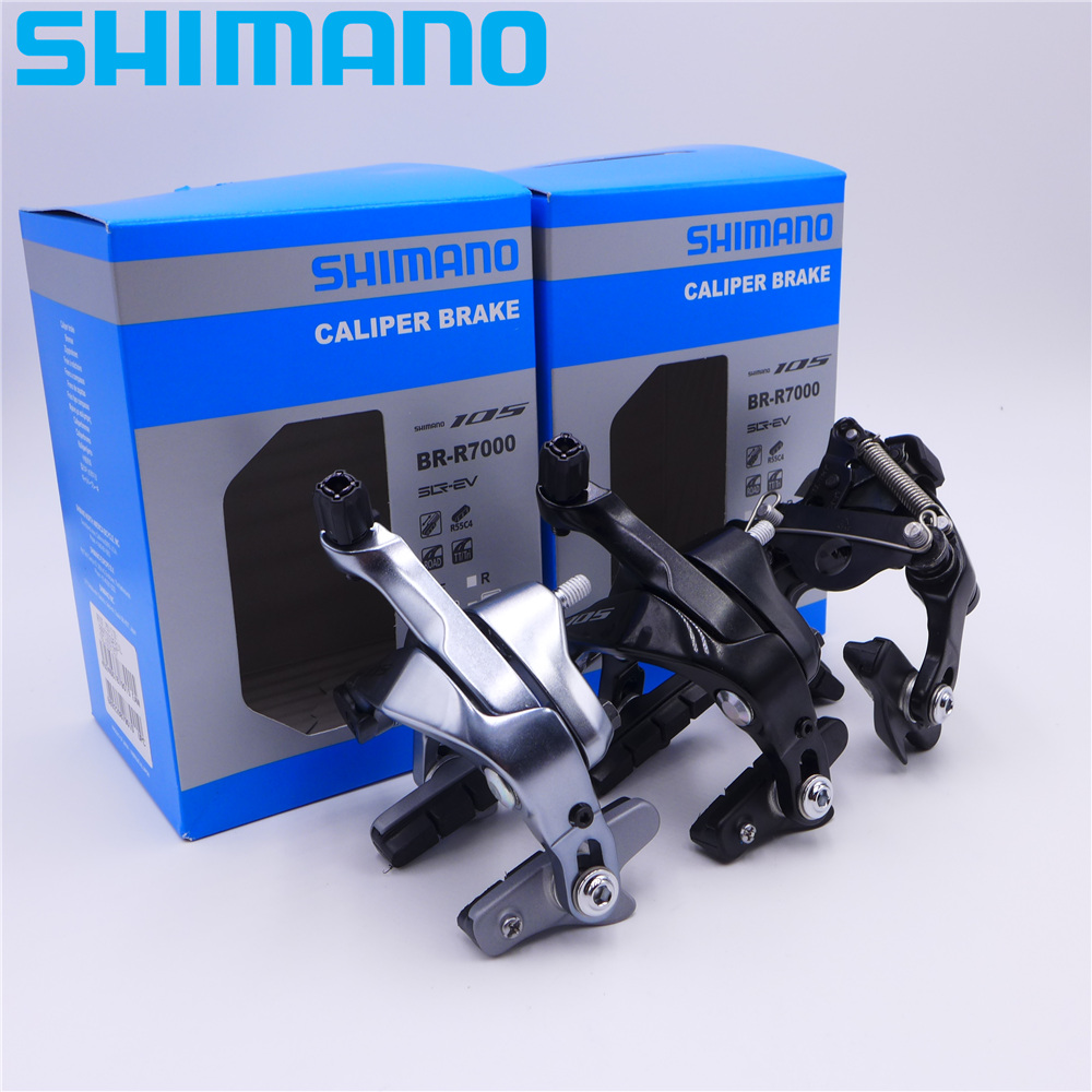 SHIMANO 105 BR-R7000 BR-R7010 Direct Mount Type Road Bike Caliper Brake shimano road cyclocross br rs805 disc brake flat mount caliper w fin pads front