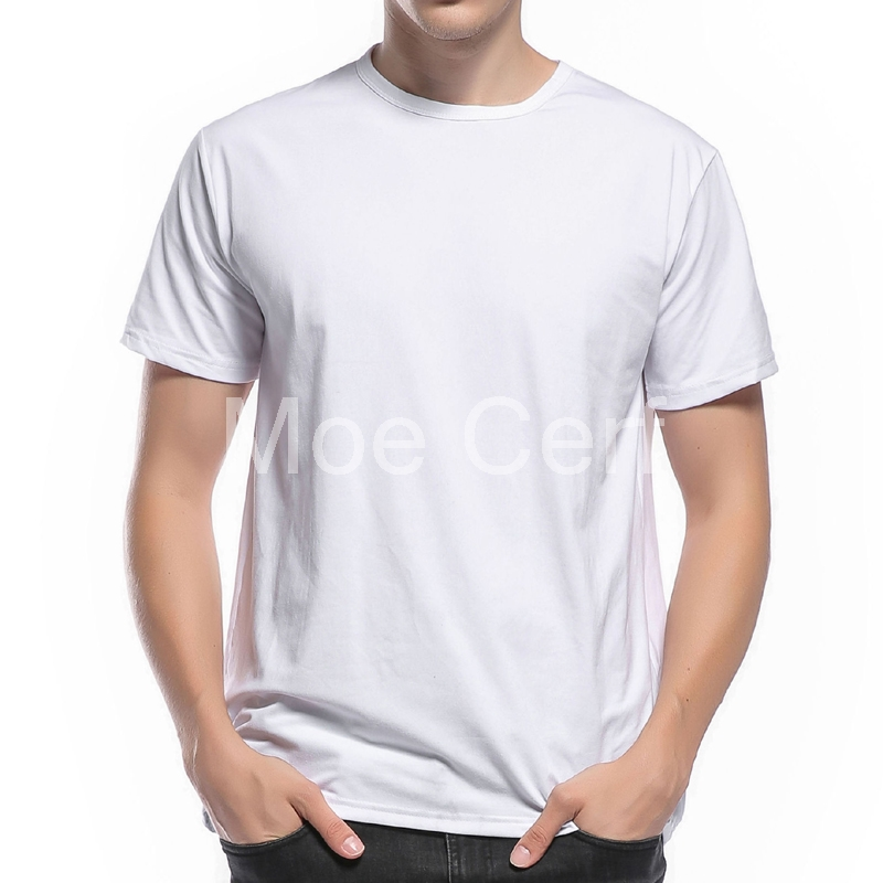 0fcc0f9c047b Customized Men's T Shirt Print Your Own Design High Quality Send Out In 3  Days White Color basic t shirt