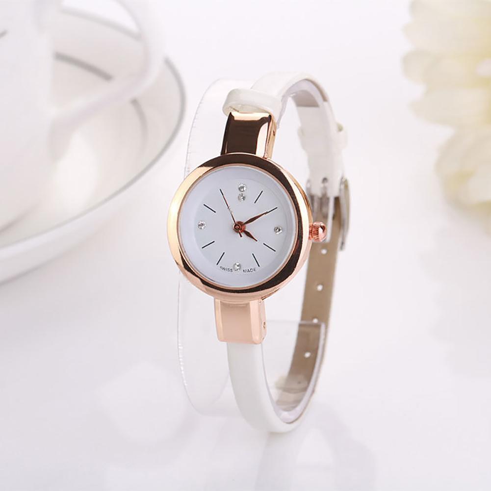 Women Watches Relogio Feminino Fashion Ultra Thin Leather Steel Quartz Wrist Watch Women Bracelet Clock Dress Wristwatch Gift
