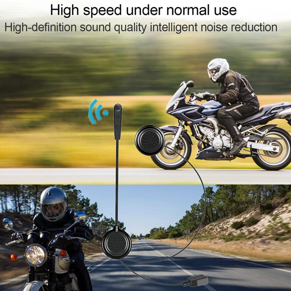 EJEAS Wireless Bluetooth Headset Anti-interference Helmet Stereo For Motorcycle Helmet Riding Hands Free Bluetooth Headphone MP3