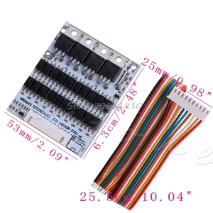 Image 3 - SIV 10S 36V Li ion Lithium Cell 40A 18650 Battery Protection BMS PCB Board Balance Whosale&Dropship