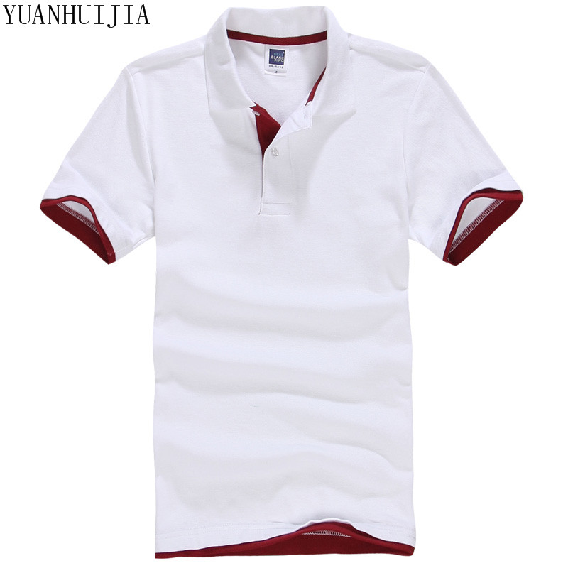 Brand New Men's   Polo   Shirt For Men   Polos   Men Cotton Short Sleeve shirt Clothes jerseys golftennis Plus Size M- XXL 3XL homme