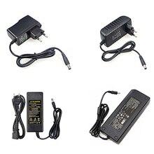 Alta qualidade tem fonte de alimentação dc 12 v 1a 2a 3a 5a 6a 8a 10a led transformador para 5050 5730 2835 3014 5050 tem led strip luzes