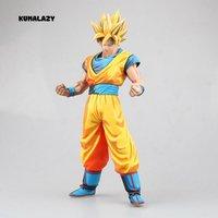 Figura Dragon Ball Goku Figura CÓMICA Super Saiyan SonGoku MSP figura PVC 280mm Dragon Ball Figura de Acción Z DBZ DragonBall Z