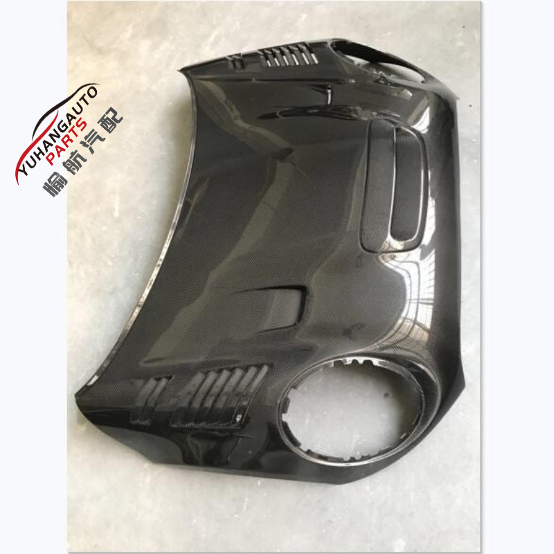 Auto parts for  Mini F56 Duell style Hood bonnet Carbon Fiber