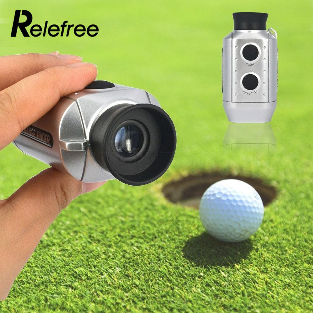 Цифровой 7x карман Гольф дальномер электронный область расстояние Гольф область + ремень Учебные средства для гольфа