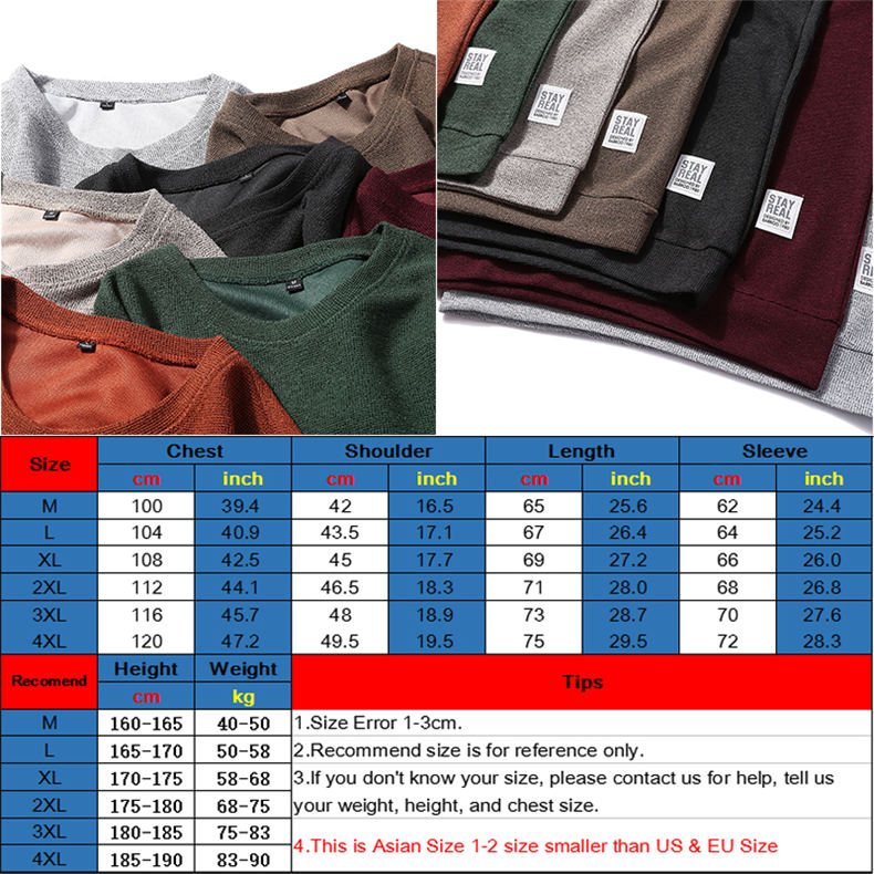 7Colors Autumn Casual Men Sweatshirts Solid Hoody Top Basic O Neck Sport Hoodies Male Spring Crewneck Streetwear Brand Clothing 15