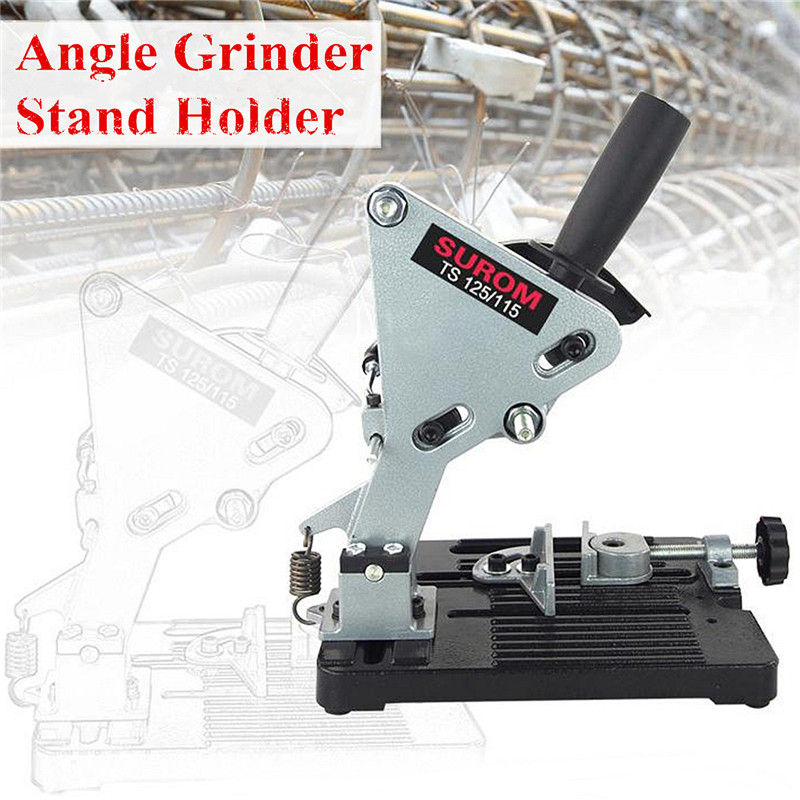 Electric Angle Grinder Stand Angle Cutter Support Bracket Holder Stand Dock Cast Iron Base For 100 115 125mm Angle GrinderElectric Angle Grinder Stand Angle Cutter Support Bracket Holder Stand Dock Cast Iron Base For 100 115 125mm Angle Grinder