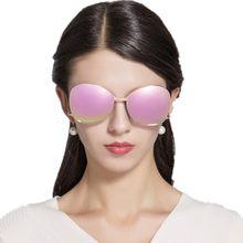 Haute Qualité Rose Rose Miroir lunettes de Soleil Femmes Nouveau Concepteur  de Marque lunettes de Soleil polarisées Se Contorsio. 6c66e238fd1e