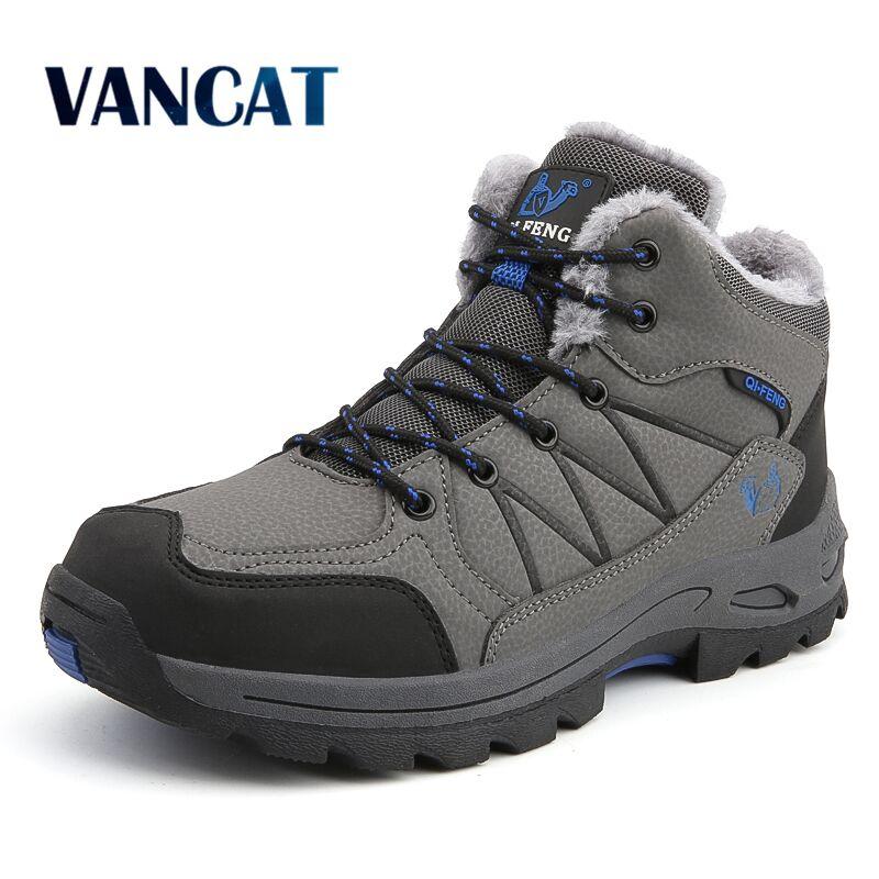 NICE Anti-skidding Waterproof Snow Boots For Men