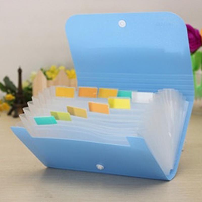 1Pc High Quality Plastic Candy Color Document Bag File Folder Expanding Wallet Bill Folder 17.8*11.5*2.5cm 32 23 1 7cm plastic candy color file folder flower document bags expanding wallet bill folders for documents fichario escolar