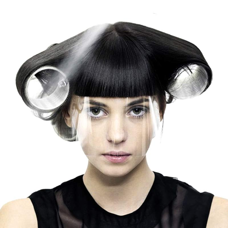 The Cheapest Price 50 Pcs/set Professional Hair Eye Protector Transparent Plastic Hairdressing Cover For Customer Hairs Styling Accessories Wh998 Hair Care & Styling
