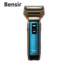 bensir three in 1 Males's Electrical Shaver Beard Trimmer Rechargeable Razor for Males Shaving Nostril hair Face Care