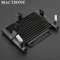 Motorcycle Oil Cooler Radiator Water Tank For Harley Touring Road King FLHR Electra Glide Ultra Classic FLHTCU FLHX FLTRX 17 18
