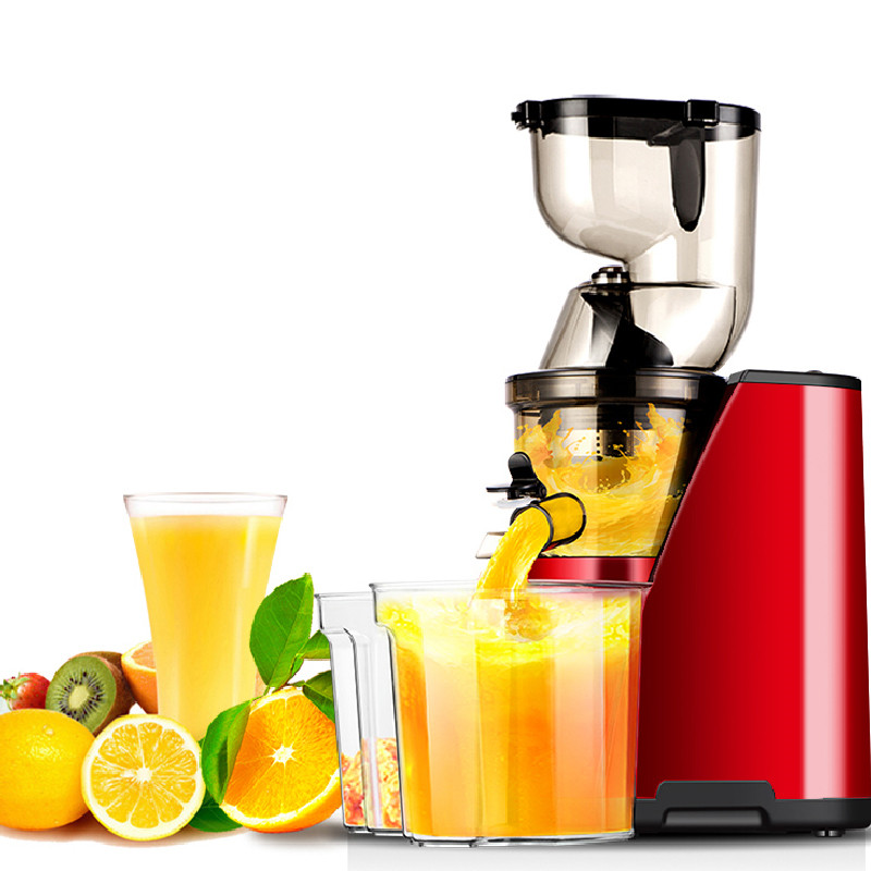 все цены на BEIJAMEI New Large Mouth Slow Juicer Electric Home Commercial Fruit Vegetable Citrus Low Speed Juice Extractor Price онлайн