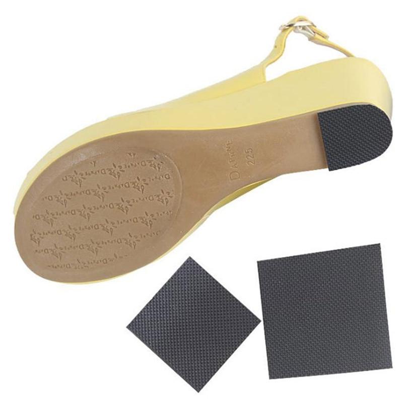 12pcs Anti-Slip Heel Soles Grip Protector Pads Self-Adhesive Shoes Care