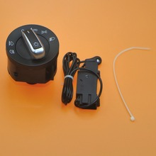 1 компл. хром фар переключатель и Сенсор модуль для VW Golf MK5 MK6 Jetta 5 Passat B6 Tiguan Caddy Touran 5ND 941 431 B 5nd941431b