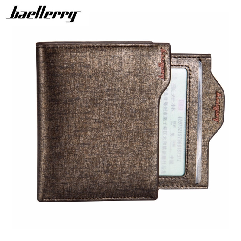 2017 New Fashion Men Wallets Bifold Wallet ID Card Holder Coin Purse Pockets Clutch With Zipper Men Wallet With Coin Bag K043 japan anime katekyo hitman reborn wallet cosplay men women bifold coin purse