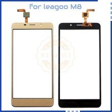 5,7 дюйма для leagoo M8 черный и золотой сенсорный датчик с дигитайзером панель Запчасти для leagoo M8 сенсорный экран