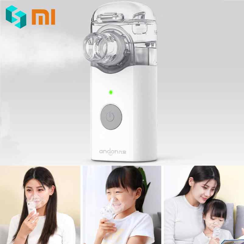 Xiaomi Andon Nebulizer Mini Portable Silent Atomizer Handheld 0.2ml/min Rate Asthma Respirator Humidifier For Children and Adult