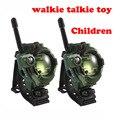 Военный Камуфляж Walkie Talkie Игрушки для Детей многофункциональный Наручные Часы Двухстороннее Радио Игрушки Компас Лупа Отражатель