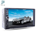 "7"" HD Touch Screen Car MP4 MP5 Bluetooth Player GPS Navigation FM/AUX-IN/USB/SD 2 Din In Dash Audio Video Player"