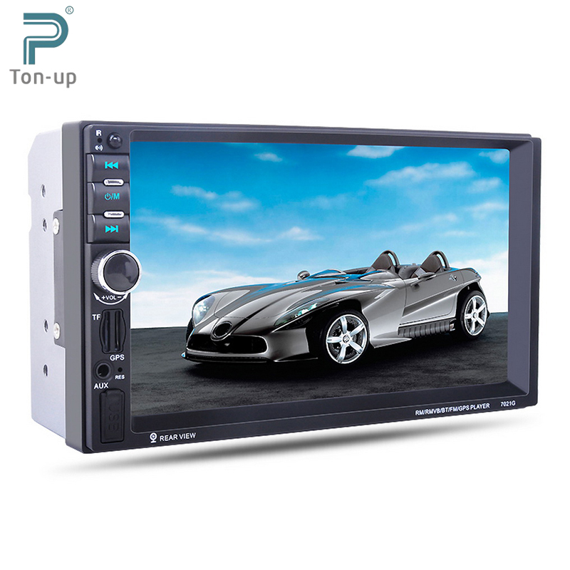 "imágenes para 7 ""HD de Pantalla Táctil de Coches Reproductor de MP4 MP5 Bluetooth Gps FM/AUX-IN/USB/SD 2 Din En El Tablero Reproductor de Audio y Vídeo"