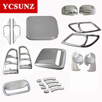 Decorative Parts 2005 2010 For Toyota Hilux Chrome Kit Accessories For Toyota Hilux Vigo 2006 2007 2008 2009 Hilux Parts Ycsunz
