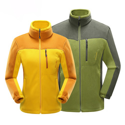 Windproof Thermal Outdoor Softshell Jacket Men Womens Couple Hiking Clothes Polar Fleece Jacket Women Coat HJ002