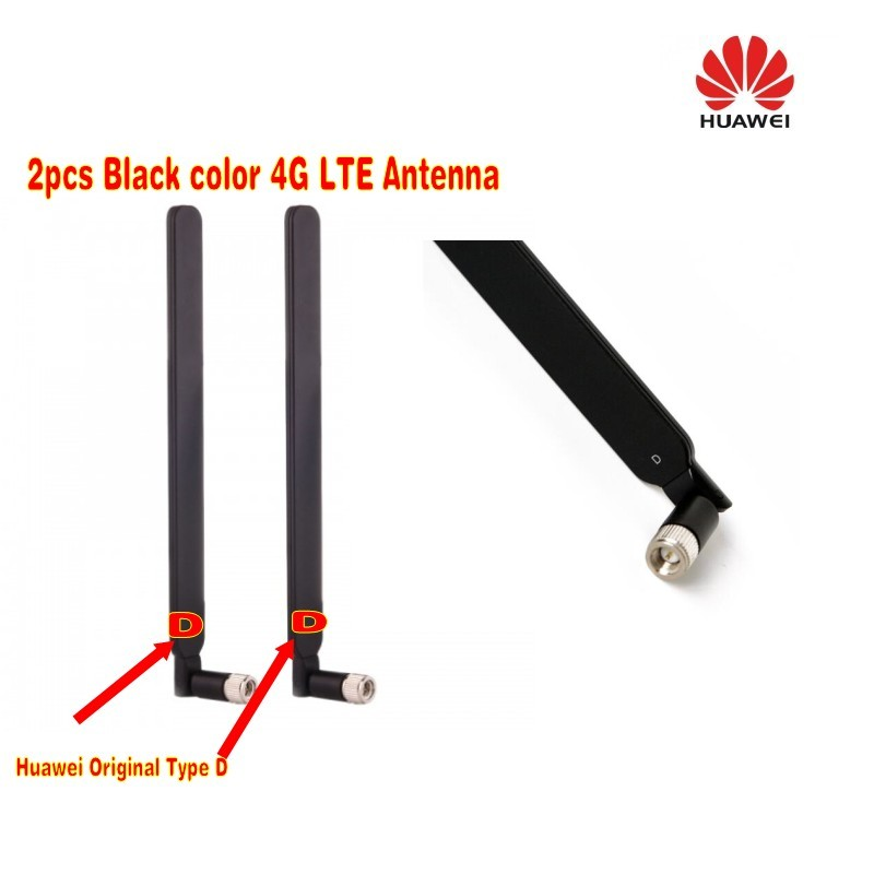 Original Type D 4G LTE External SMA Male Connector Modem Antenna for huawei b593 (Router not included)