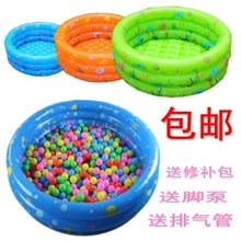 Inflatable Swimming Pool 80cm 100cm 130cm 150cm trinuclear inflatable pool baby infant child ball pool swimming