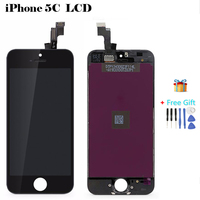 Factory AAA Quality LCD Display For Apple IPhone 5C Module Touch Screen Digitizer Full Glass LCD
