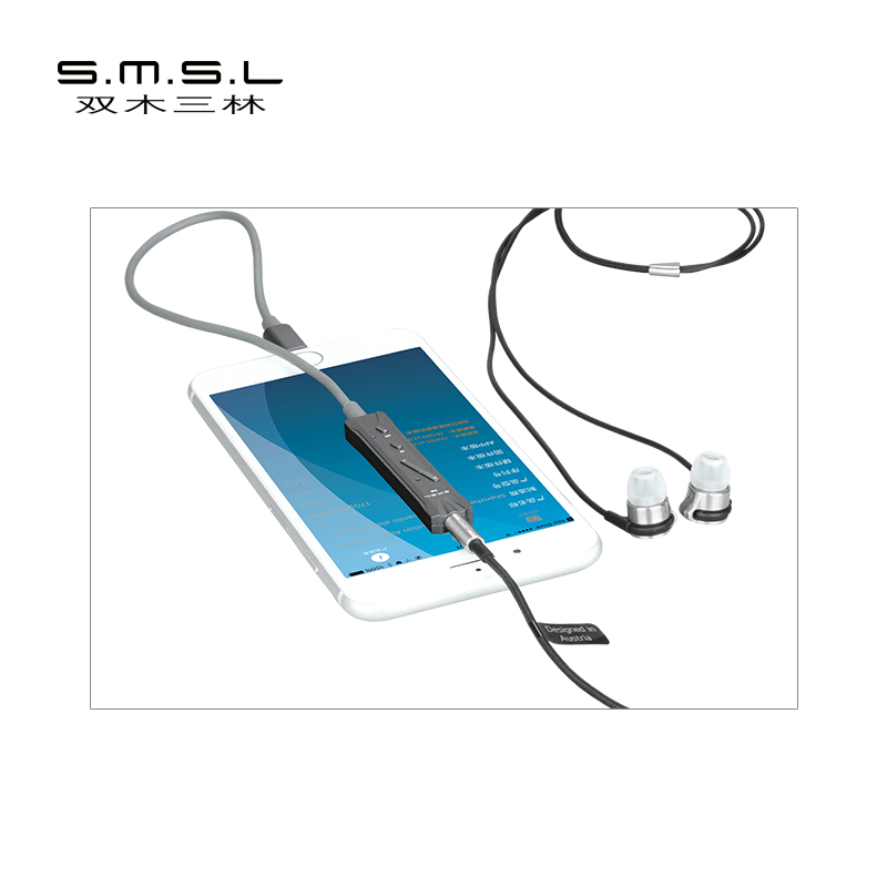 ASD SMSL I2 Mini Amp Portable Lightning DAC/Amplifier And Headphone Amplifier Built-in Microphone for iPhone iPad IOSASD SMSL I2 Mini Amp Portable Lightning DAC/Amplifier And Headphone Amplifier Built-in Microphone for iPhone iPad IOS