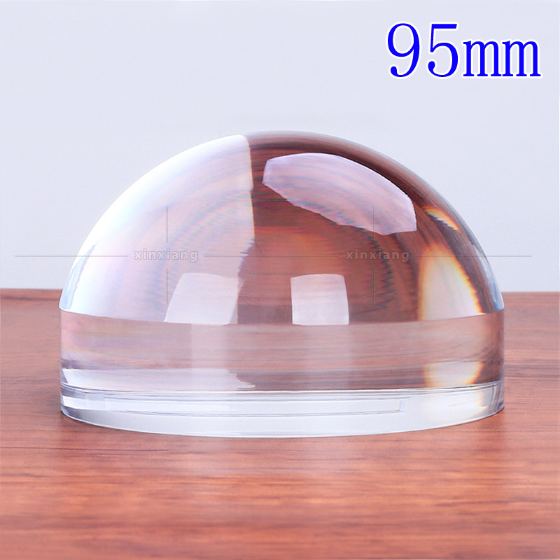 5X95mm acrylique sphérique loupe bureau papier carte loupe lentille portable lecture verre 5 fois affichage apprécier