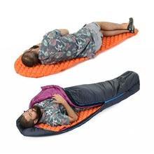 Outdoor Inflatable Utralight camping mat Single Pads With Pillow Mummy Lightweight