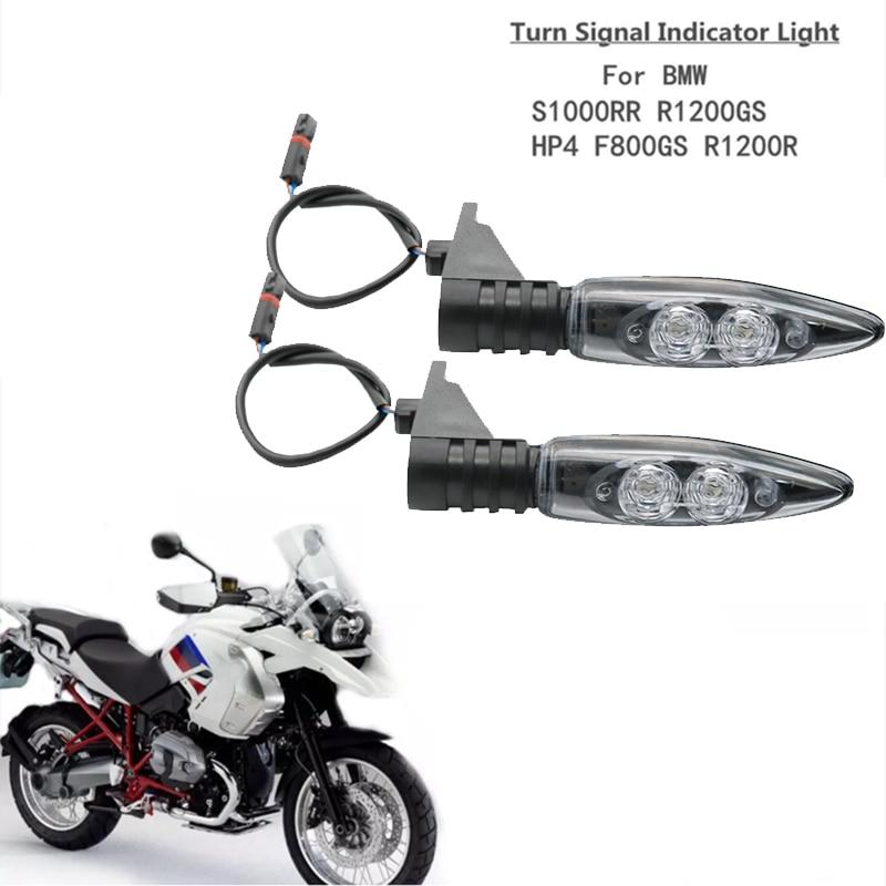 For BMW S1000R S1000RR S1000XR R1200GS R1200R R1200RS F700 F800GS Motorcycle Front Rear LED Turn Signal Indicator Light Blinker s1000rr turn led lights
