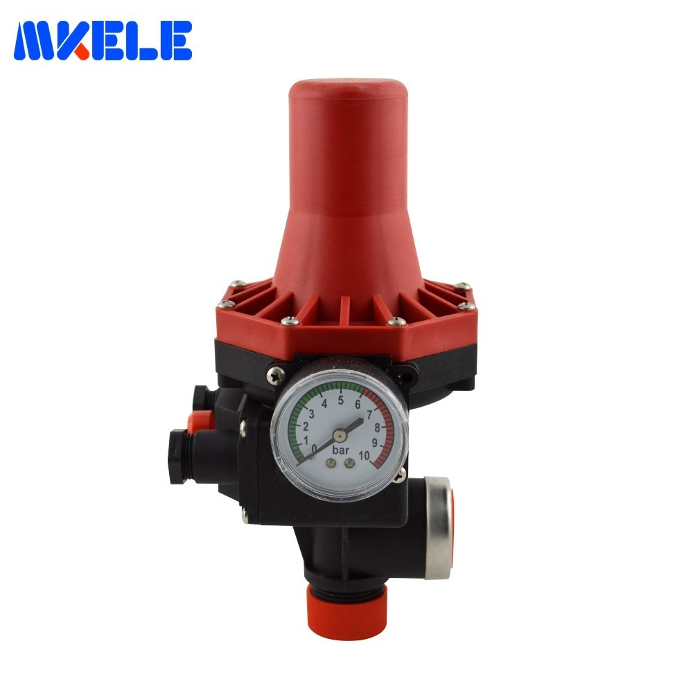 Pressostat d'eau automatique contrôle pressostat d'eau électronique MK-WPPS07 Makerele pour pompe à eau sur 1.5bar hors 10bar
