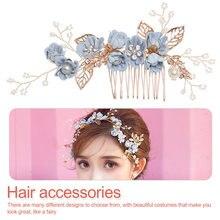 Hair Ornament Korean Silk  Flower Bride Headdress Beauty Wedding Girl Accessories