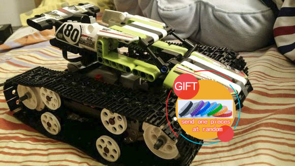 20033 Tech Series The RC Track Remote-control Race Car Set Building Blocks Bricks Educational Lovely Gifts Toys 42065 lepin rc pozen the mutual fund business complete video series set 1 2