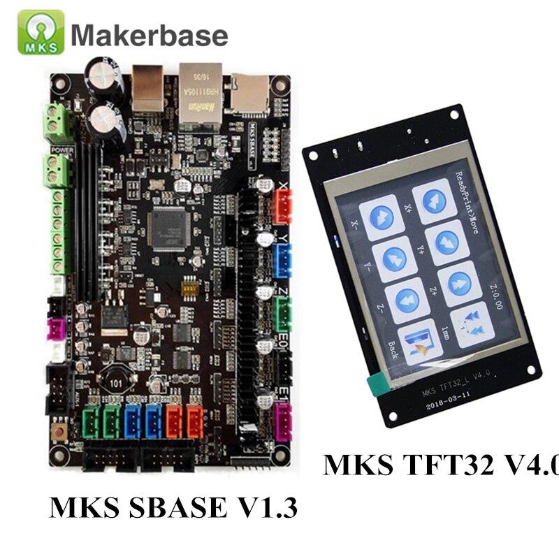 3D Drucker Teile MKS SBASE V1.3 Smart Controller Smoothieboard + MKS TFT32 V4.0 Display Kompatibel Smoothieware