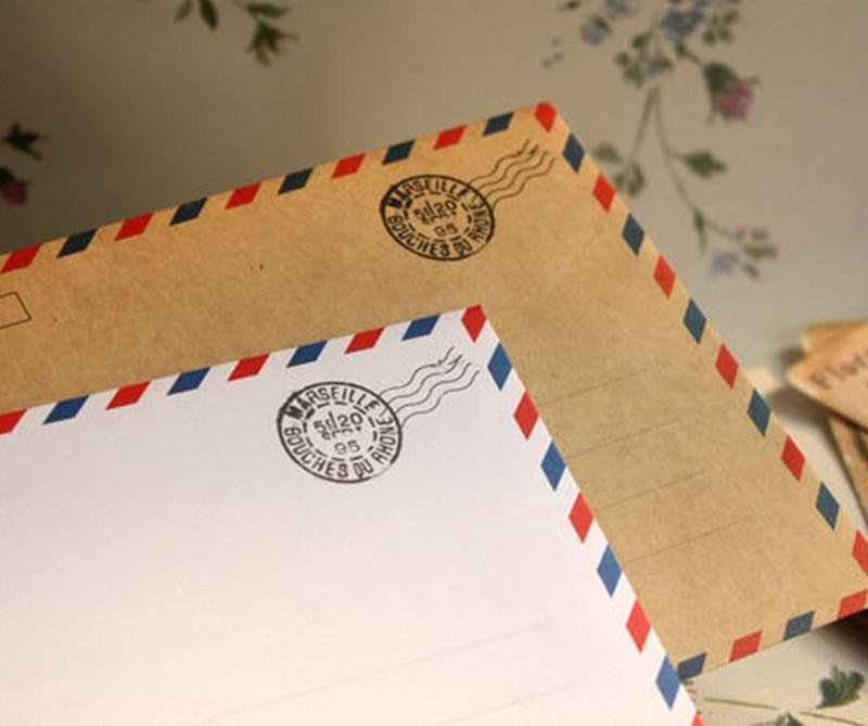 Us 1856 21 Off100 Pcs Vintage Kraft Kertas Amplop Surat Amplop Coklat Pernikahan 175x125 Cm In Kartu Undangan From Rumah Taman On